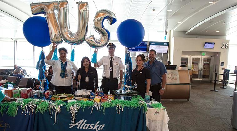 Alaska Airlines San Jose Tuscon