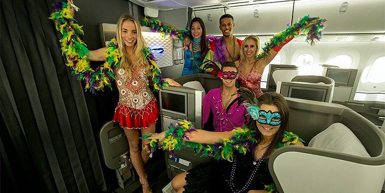 British Airways New Orleans launch