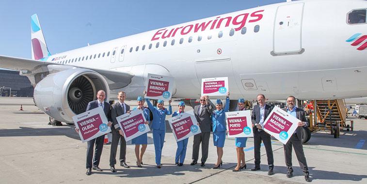 Eurowings is fastest-growing international airline in S17.