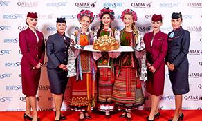Qatar Airways connects with Kiev