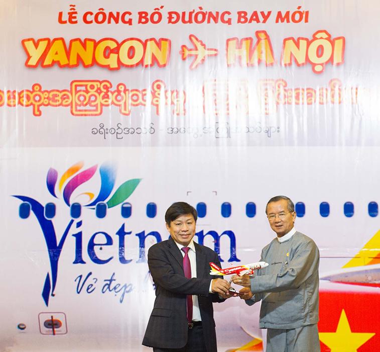 VietJetAir Yangon