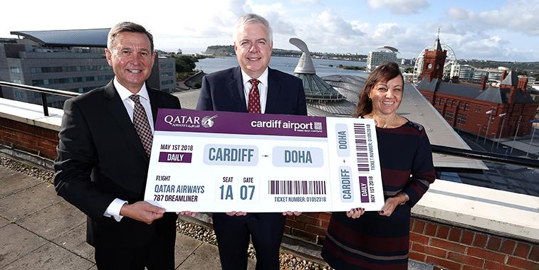 Qatar Airways Cardiff