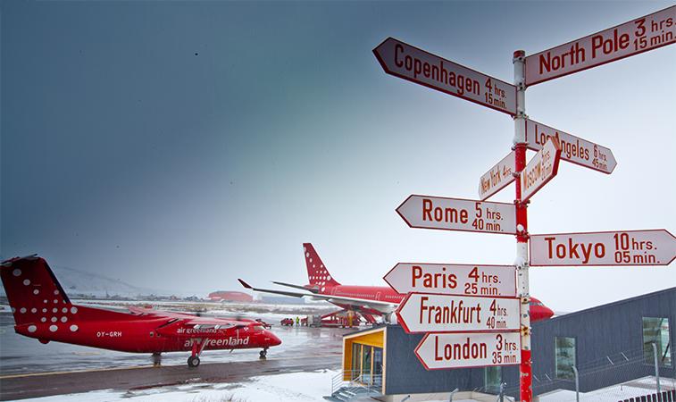 Resultado de imagen para Air Greenland network