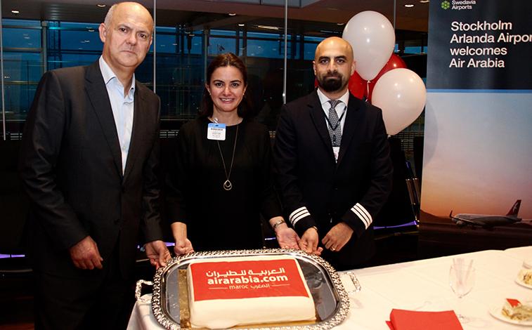 Air Arabia Maroc Stockholm Arlanda