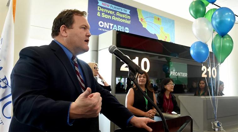 Frontier Airlines Ontario