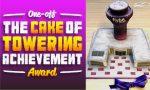 "Flybe wins unique ""anna.aero Towering Achievement Cake Prize"" for BHX winter launch celebration"
