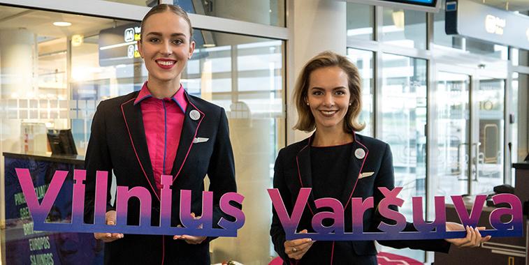 Wizz Air Warsaw Vilnius