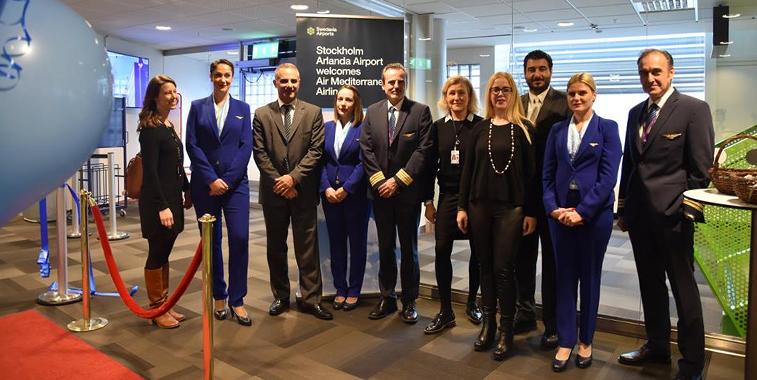 Air Mediterranean Athens Stockholm Arlanda