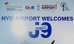 Jazeera Airways hops over to Hyderabad