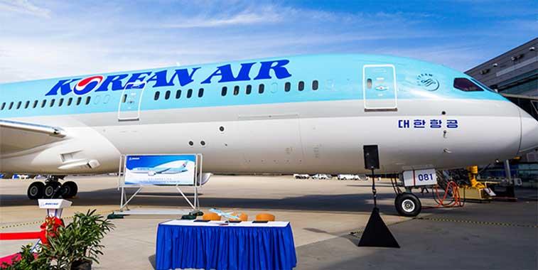 Korean Air's capacity remains static in 2017