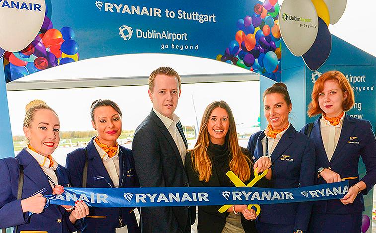 Ryanair Dublin Stuttgart