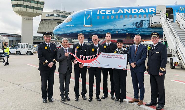Icelandair Berlin Tegel