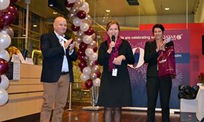 Qatar Airways celebrates 10 years of operation from Stockholm Arlanda
