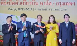Thai VietJet launches new route to Vietnam