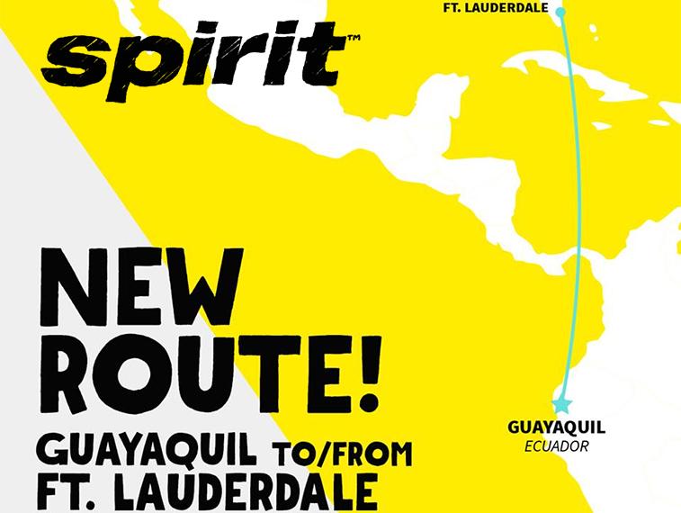 Spirit Airlines Ecuador