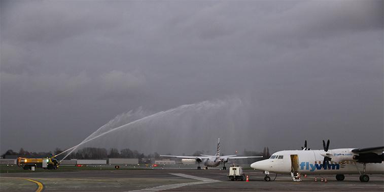 VLM Airlines Antwerp Zurich