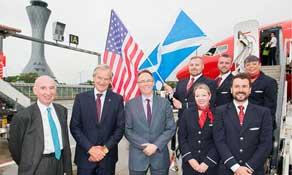 Edinburgh Airport handled 13.43 million passengers in 2017; London tops destination leaderboard; easyJet and Ryanair are biggest carriers