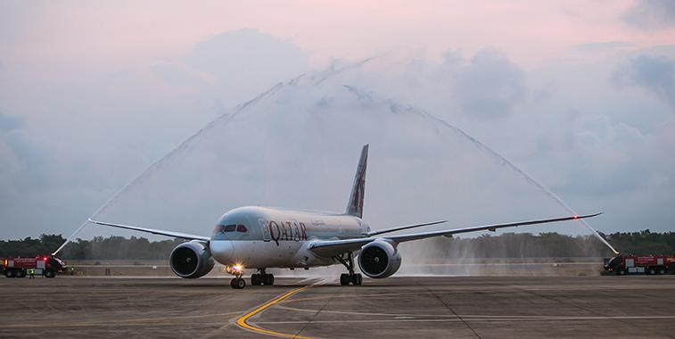 Qatar Airways Utapao