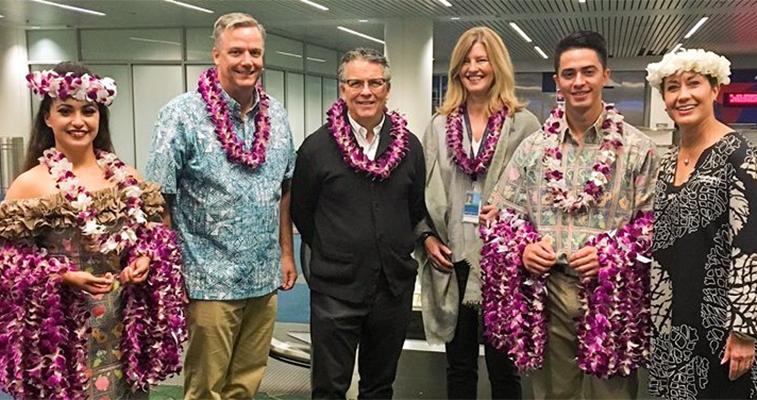 Hawaiian Airlines Portland