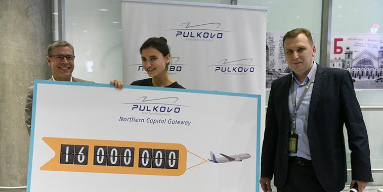St. Petersburg passenger milestone