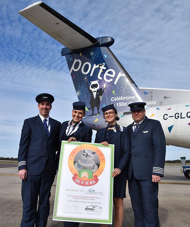 Orlando Melbourne Porter Airlines