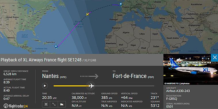 XL Airways Nantes