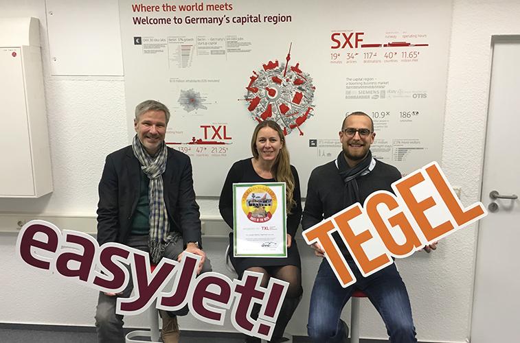 easyJet Berlin Tegel