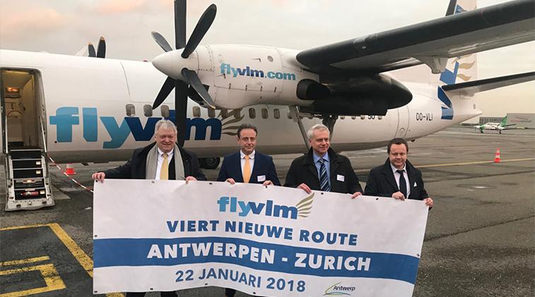 VLM Airlines Zurich