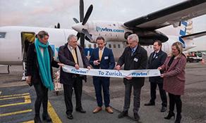 VLM Airlines inaugurates Zurich service