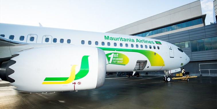 Mauritania Airlines International 737 MAX 8