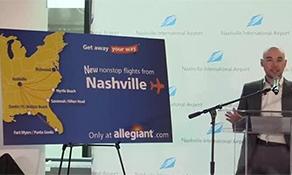 Allegiant Air to begin serving Nashville