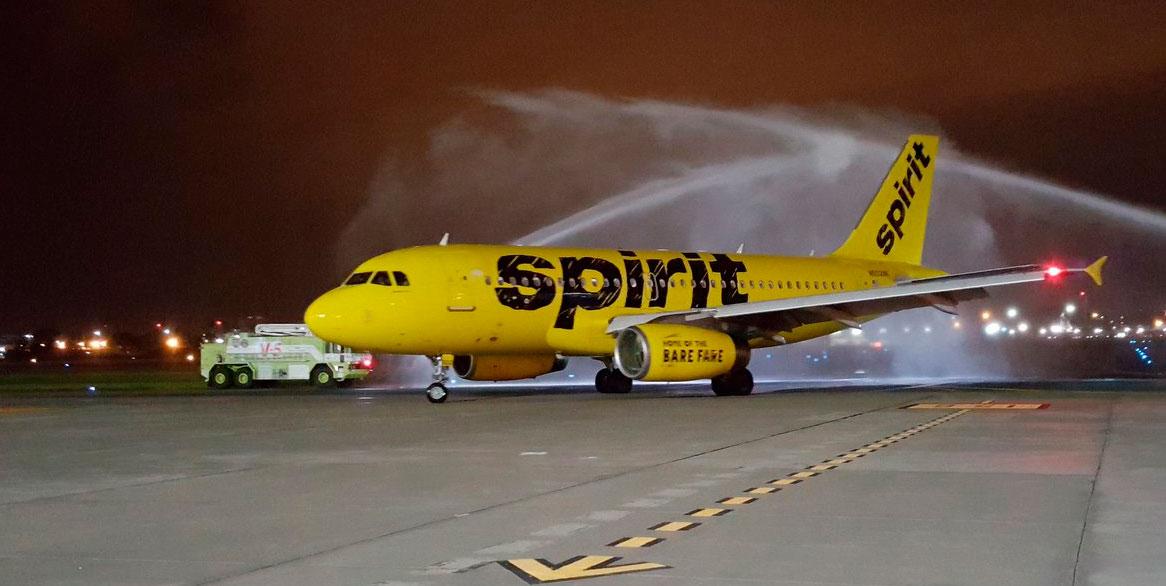 Spirit Airlines Guayauil