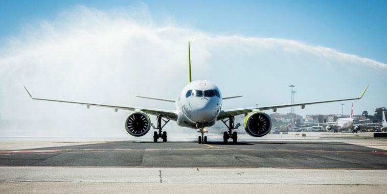 airBaltic Lisbon
