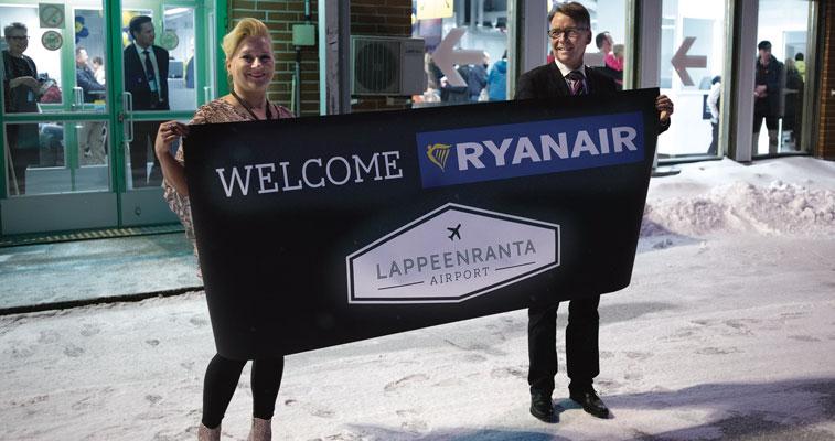 Ryanair Lappeenranta