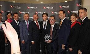 "Qantas Perth–London Heathrow service wins anna.aero's ""Platinum Planet Prize"" for first ""non-stop-non-hop"" kangaroo route"