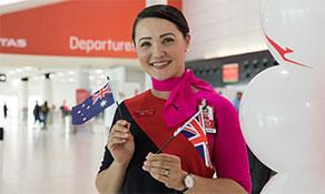 Qantas starts first non-hop Perth-London Heathrow service