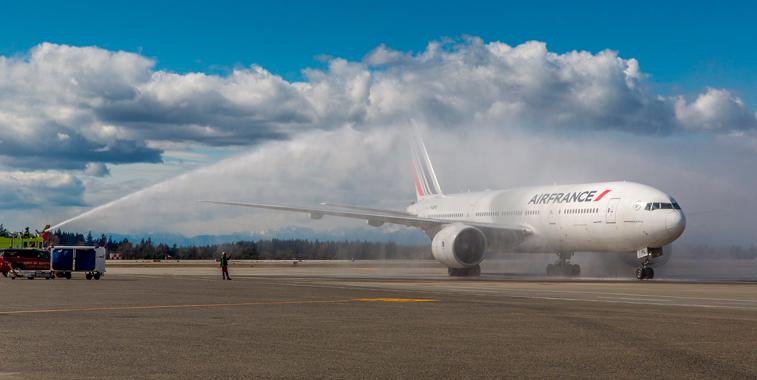 Air France Seattle