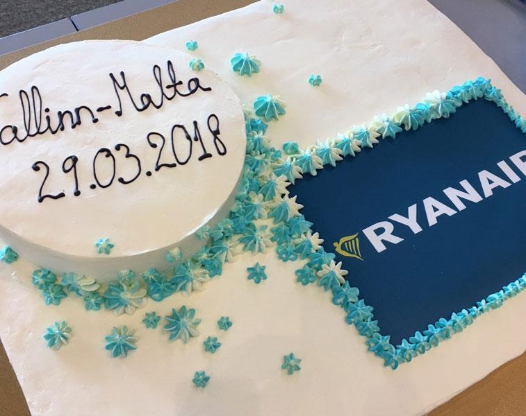 Ryanair Malta Tallinn