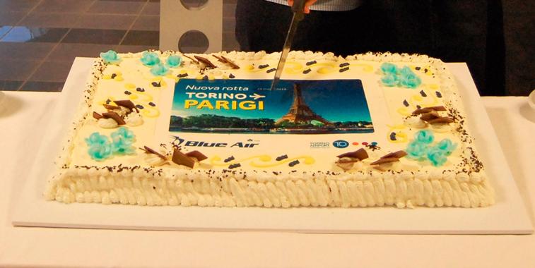 Blue Air Turin Paris CDG