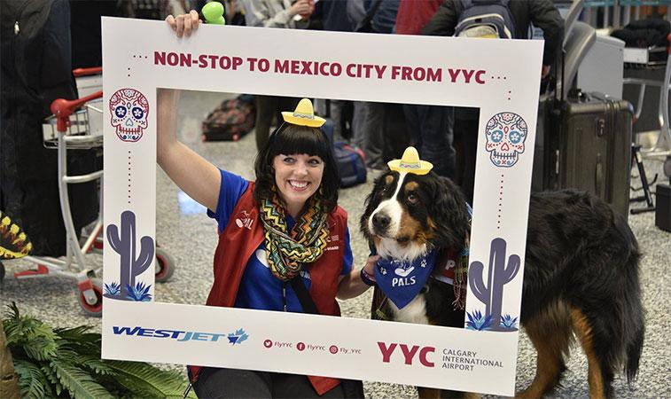 WestJet says hola to Mexico City
