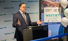 WestJet makes a move for Mile High City