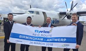 VLM Airlines returns to Birmingham
