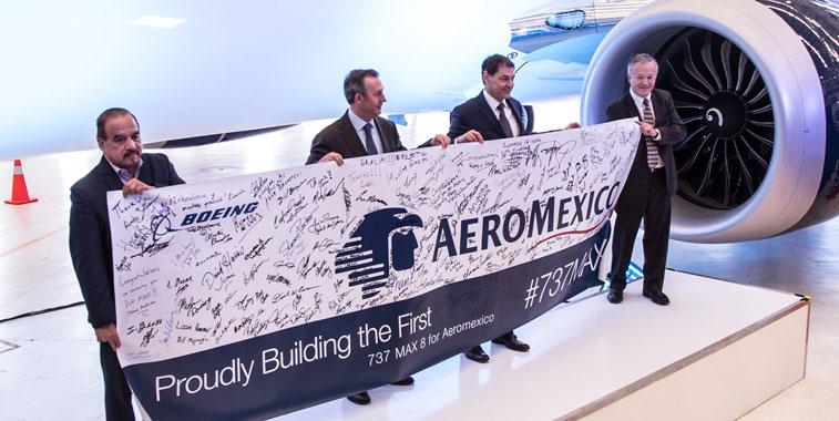 Aeromexico 737 MAX 8
