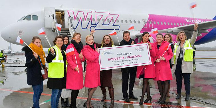 Wizz Air Bordeaux