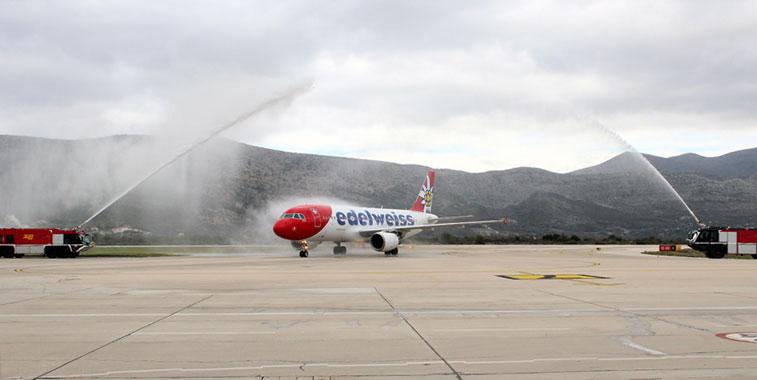 Edelweiss Air Zurich Dubrovnik Paphos