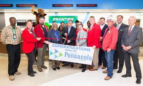 Frontier Airlines pops up in Pensacola