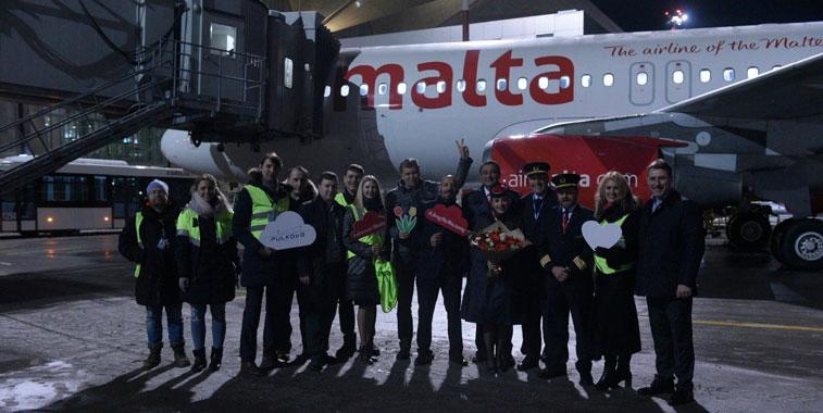 Air Malta St. Petersburg