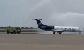 ViaAir operates inaugural Oklahoma City service