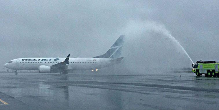 WestJet Halifax