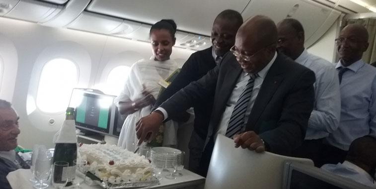 Ethiopian Airlines Abidjan New York Newark